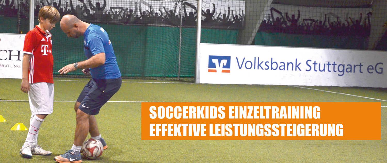 Einzeltraining Soccerkids Fussballschule Stuttgart